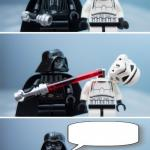 Lego Vader Kills Stormtrooper by giveuahint meme