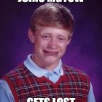 Bad Luck Brian Cry | JOINS MGTOW GETS LOST | image tagged in bad luck brian cry,mgtow,get lost | made w/ Imgflip meme maker