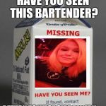 Milk Carton -Duckstreet Collectables – Whink |Custom Milk Carton Missing Person