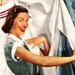 Vintage Laundry Woman meme