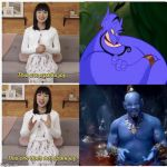 What we're all thinking regarding the new Aladdin. | image tagged in marie kondo spark joy,aladdin,will smith | made w/ Imgflip meme maker