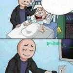 Father Unplugs Life support meme