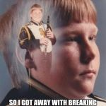 PTSD Clarinet Boy Meme | SHE THOUGHT SHE'D GET AWAY WITH BREAKING MY HEART SO I GOT AWAY WITH BREAKING HER AND HER DOG'S NECK AND GOT THE NEW LOVE BLAMED IT | image tagged in memes,ptsd clarinet boy | made w/ Imgflip meme maker