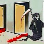 death knocking at the door meme