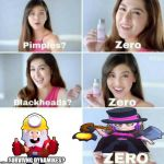 Pimples, Zero! | SURVIVNG DYNAMIKES? | image tagged in pimples zero | made w/ Imgflip meme maker