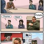 Potatermimator meme