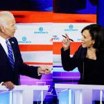 Kamala Harris Attacks Joe Biden meme