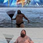 Aquaman of the south meme