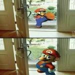 Mario Kicking Down Door Meme Generator Imgflip