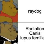 "that's the scientific name for ""dog"" 