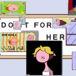 Do It for Her | image tagged in do it for her | made w/ Imgflip meme maker