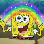 Rainbow Spongebob