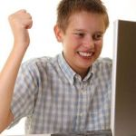 First Day On The Internet Kid Meme | THAT 1 KID ON THE CHROMEBOOK | image tagged in memes,first day on the internet kid | made w/ Imgflip meme maker