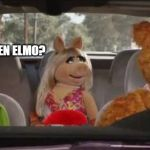 Where's Elmo | ANYONE SEEN ELMO? | image tagged in elmo,funny memes | made w/ Imgflip meme maker