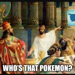 Is that a banksy | WHO'S THAT POKEMON? | image tagged in is that a banksy | made w/ Imgflip meme maker