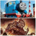 Thomas the creepy tank engine