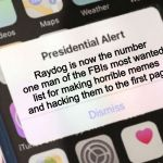 Presidential Alert Meme | Raydog is now the number one man of the FBIs most wanted list for making horrible memes and hacking them to the first page | image tagged in memes,presidential alert | made w/ Imgflip meme maker