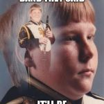 PTSD Clarinet Boy Meme | JOIN MARCHING BAND THEY SAID IT'LL BE FUN THEY SAID | image tagged in memes,ptsd clarinet boy | made w/ Imgflip meme maker