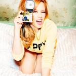 Kylie Minogue with a Camera meme