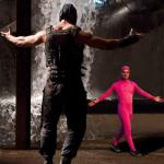 Pink Guy vs Bane meme
