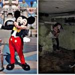 mickey mouse in disneyland meme