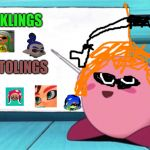 I am a lie made in 2.0 seconds | INKLINGS OCTOLINGS | image tagged in kirby's lesson | made w/ Imgflip meme maker