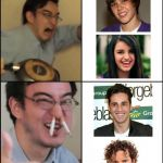 Spain >>> USA & Canada | image tagged in filthy frank,bustamante,david bisbal,justin bieber,rebecca black,spain | made w/ Imgflip meme maker
