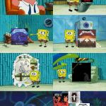 Spongebob diapers meme | METALLICA HAS NO GOOD ALBUMS | image tagged in spongebob diapers meme | made w/ Imgflip meme maker