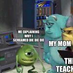 Monster Inc Meme Generator Imgflip