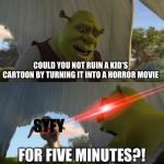 for five minutes