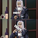"Abbacchio joins in the fun | WIERD CONVERSATION CRACK WEIRD FACTS NORMAL CONVERSATION ME CRACK ME NORMAL CONVERSATION WIERD CONVERSATION WEIRD FACTS ""A DUEL BETWEEN THRE 
