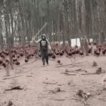 FRODO! | FOR FRODO! | image tagged in gifs,lotr,lord of the rings,frodo,chickens | made w/ Imgflip video-to-gif maker