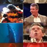 Vince McMahon Reaction w/Glowing Eyes | image tagged in vince mcmahon reaction w/glowing eyes | made w/ Imgflip meme maker