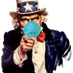 uncle sam i want you to mask n95 covid coronavirus meme