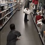 trying to get toilet paper in 2020 | image tagged in gifs,too funny,toilet paper,oof,prank | made w/ Imgflip video-to-gif maker