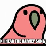 Beat drop | WHEN I HEAR THE BARNEY SONG PLAY | image tagged in gifs,funny,dank memes | made w/ Imgflip video-to-gif maker