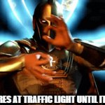 I control fate! | KID: STARES AT TRAFFIC LIGHT UNTIL IT CHANGES | image tagged in gifs,funny,kids these days,dc comics | made w/ Imgflip video-to-gif maker