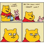 Pooh Loves Honey meme