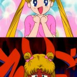 Usagi Excited but on the downside meme