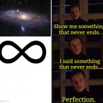 Perfection meme