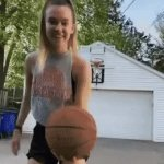 Bonk!! | image tagged in gifs,fun,basketball | made w/ Imgflip video-to-gif maker