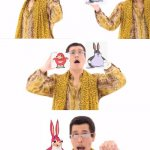 uganda chungus creation meme | image tagged in memes,ppap | made w/ Imgflip meme maker