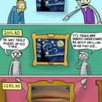 Helo art | image tagged in van gogh meme template,helo,memes | made w/ Imgflip meme maker