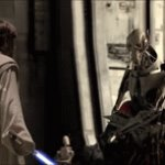 Grievous has 66 lightsabers | image tagged in gifs,star wars,memes,funny,upvotes | made w/ Imgflip video-to-gif maker