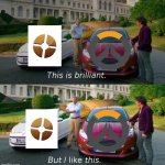 Overwatch vs Tf2 | image tagged in this is brilliant but i like this | made w/ Imgflip meme maker