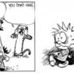 Calvin and Hobbes Rewind/Erase button meme