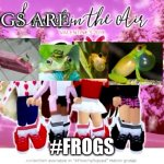 Frogs are in the air | FROGS ARE #FROGS | image tagged in love is in the air | made w/ Imgflip meme maker