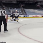 MacKinnon Hop Hop Hop | image tagged in gifs,hockey | made w/ Imgflip video-to-gif maker