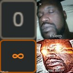 infinite notifications | image tagged in memes,sleeping shaq,imgflip,notifications,funny,infinite | made w/ Imgflip meme maker