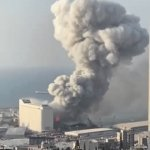 Beirut Blast | image tagged in gifs,beirut,explosion | made w/ Imgflip video-to-gif maker
